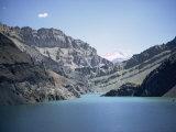 Karaj Dam Lake  Iran  Middle East