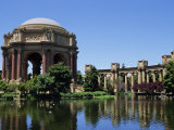 Palace of Fine Arts  Built of Plaster in 1915  Marina District  San Francisco  California  USA