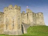 Warkworth Castle  Northumbria  England  United Kingdom  Europe