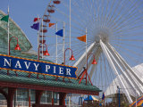 Navy Pier Ferris Wheel  Chicago Illinois  United States of America  North America
