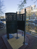 Old Fashioned Outdoor Lavatory or Pissoir  Amsterdam  Netherlands  Europe