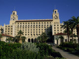Exterior of the Breakers Hotel  Palm Beach  Florida  United States of America  North America