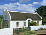 Cape Dutch Architecture  Swellendam  on the Garden Route  South Africa  Africa