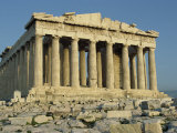 Parthenon  the Acropolis  UNESCO World Heritage Site  Athens  Greece  Europe