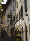 Fruit Shop in the Old Town of Limone  Lake Garda  Lombardy  Italy  Europe