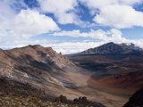Haleakala Crater on the Island of Maui  Hawaii  United States of America  North America