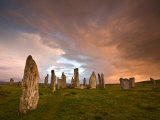 Standing Stones of Callanish  Callanish  Near Carloway  Isle of Lewis  Outer Hebrides  Scotland