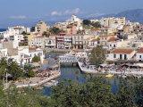 Bottomless Lake  Agios Nikolas  Crete  Greek Islands  Greece  Europe