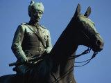 Equestrian Statue of General Mannerheim  Helsinki  Finland  Scandinavia