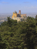 Pena National Palace  UNESCO World Heritage Site  Sintra  Portugal  Europe