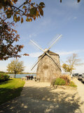 Model of Beebe Windmill  Sag Harbor  the Hamptons  Long Island  New York State  USA