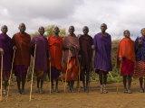 Masai  Amboseli National Park  Kenya  East Africa  Africa