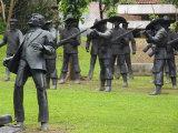 Memorial to Martyr Dr Jose Rizal  Rizal Park  Luneta  Manila  Philippines