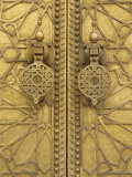 Architectural Detail  Royal Palace  Fez  Morocco  North Africa  Africa
