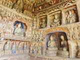 Yungang Caves  Dating from 460 Ad Near Datong  Shanxi Province  China