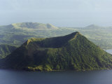 Taal Volcano  Lake Taal  Talisay  Luzon  Philippines  Southeast Asia
