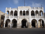 Ottoman Architecture Visible in the Coastal Town of Massawa  Eritrea  Africa