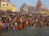 Ganges River  Makar San Kranti  Varanasi  Uttar Pradesh State  India