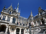 Palais Benedictine in Fecamp  Normandy  France  Europe