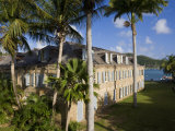 Nelson's Dockyard in English Harbour  Antigua  Leeward Islands  West Indies  Caribbean