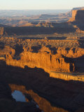 Sunrise at Dead Horse Point  Canyonlands National Park  Dead Horse Point State Park  Utah  USA