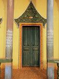 Buddhist Temple  Sen Monorum  Mondulkiri Province  Cambodia  Indochina  Southeast Asia
