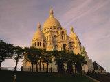 Sacre Coeur  Montmartre  Paris  France  Europe