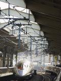 Bullet Train at Kyoto Station  Kyoto  Japan