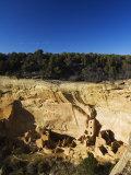 Mesa Top Loop Road Ruins  Pueblo Ruins  Mesa Verde National Park  Colorado  USA
