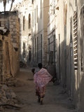 Daily Life in the Coastal Town of Massawa  Eritrea  Africa