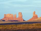Sandstone Bluffs in Monument Valley Navajo Tribal Park  Arizona  USA