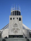 Metropolitan Cathedral of Christ the King  Liverpool  Merseyside  England  United Kingdom
