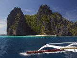 Island Hopping  Bacuit Bay  El Nido Town  Palawan  Philippines  Southeast Asia