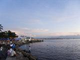 Manila Bay at Sunset  Manila  Philippines  Southeast Asia