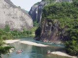 Tianyou Feng Heavenly Tour Peak in Mount Wuyi National Park  Fujian Province  China