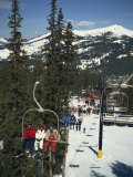Ski Lift on Copper Mountain  Colorado  United States of America  North America