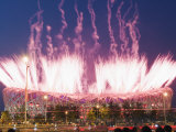 Fireworks During the Opening Ceremony of the 2008 Olympic Games  Beijing  China