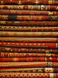 Carpets for Sale in the Grand Bazaar  Istanbul  Turkey  Europe