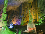 Zhijin Cave  the Largest in China at 10 Km Long and 150 High  Guizhou Province  China