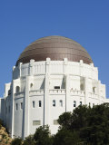 Griffiths Observatory and Planetarium  Los Angeles  California  USA