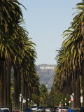 Hollywood Hills and the Hollywood Sign  Los Angeles  California  USA