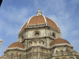 Dome of the Duomo in the Town of Florence  UNESCO World Heritage Site  Tuscany  Italy  Europe