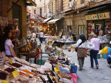 Vucciria Market  Palermo  Sicily  Italy  Europe