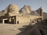 Khatmiyah Mosque at the Base of Taka Mountain  Kassala  Sudan  Africa