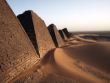 Pyramids of Meroe  Sudan's Most Popular Tourist Attraction  Bagrawiyah  Sudan  Africa