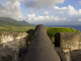 Brimstone Hill Fortress National Park  St Kitts  Leeward Islands  West Indies