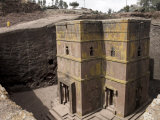 Rock-Hewn Church of Bet Giyorgis  in Lalibela  Ethiopia