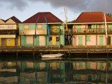 Heritage Quay Shopping District in St John's  Antigua  Leeward Islands  West Indies  Caribbean
