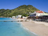 Beach at Grand-Case on the French Side  St Martin  Leeward Islands  West Indies  Caribbean
