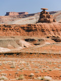 Mexican Hat Rock in Mexican Hat  Utah  United States of America  North America